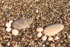 Mar de los guijarros Imagen de archivo