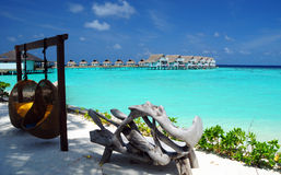Mar de Maldivas Imágenes de archivo libres de regalías