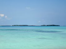 Mar de Maldivas Fotografía de archivo