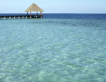Mar de Maldives imagem de stock royalty free