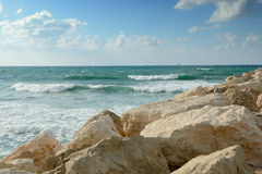 Mar de Mediterranenan Foto de Stock Royalty Free
