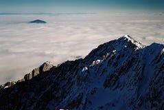 Mar de nubes Foto de archivo libre de regalías