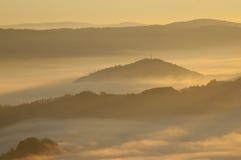 Mar de nubes Foto de archivo