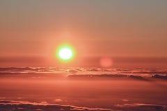 Mar de Nubes Stock Photo