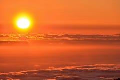 Mar de Nubes Royalty Free Stock Photos