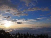 Mar de nubes y del Mt fuji foto de archivo libre de regalías