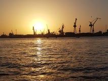 Mar de Portsaid Imágenes de archivo libres de regalías