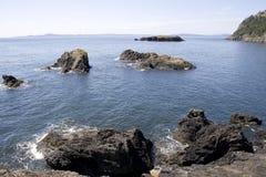 Mar de Puget Sound de la bahía del arquero Fotografía de archivo