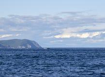 Mar de Rusia Yayaponsky del paisaje del mar Fotografía de archivo