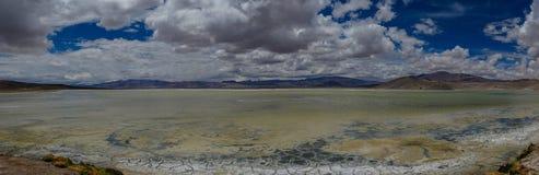 Mar de sal do deserto de atacama do Chile foto de stock