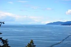 Mar de Salish Foto de Stock Royalty Free