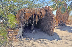 Mar de Salton: Vivienda india Fotografía de archivo libre de regalías