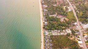 Mar de Samui del abejón Imagen de archivo libre de regalías