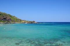 Mar de sardinia Foto de Stock Royalty Free