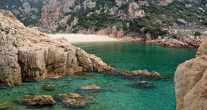 Mar de Sardinia Fotografia de Stock Royalty Free