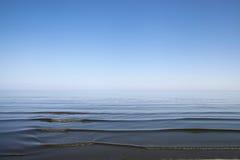Mar de Serene Baltic Foto de Stock