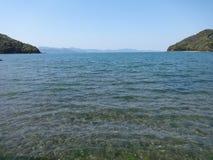 Mar de Shiranui na mola Imagens de Stock