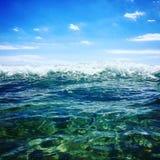 Mar de Sicilia Fotografia de Stock