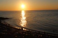 Mar de Sun Imágenes de archivo libres de regalías