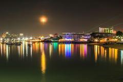 mar de Tailândia da paisagem de pattaya Foto de Stock Royalty Free