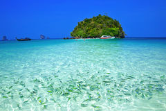 Mar de Tailândia do sul Imagens de Stock