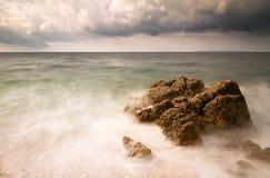 Mar de tempestade Foto de Stock