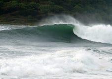 Mar de tempestade Fotografia de Stock Royalty Free