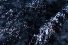 Mar de tormenta Fotografía de archivo