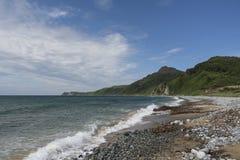 Mar de tormenta fotografía de archivo libre de regalías