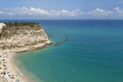 Mar de Tropea Foto de archivo