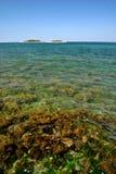 Mar de turquesa Imagem de Stock