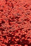 Mar de Valentine's de corazones Foto de archivo libre de regalías