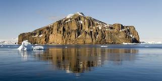 Mar de Weddell em Continente antárctico Fotos de Stock Royalty Free