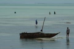 Mar de Zanzibar Imagem de Stock