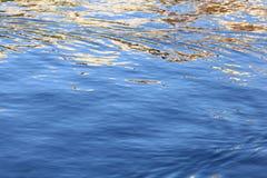 Mar del agua de la textura Fotografía de archivo libre de regalías