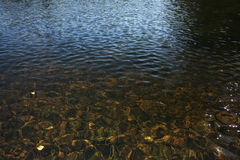 Mar del agua de la textura Fotos de archivo