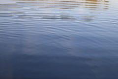 Mar del agua de la textura Fotografía de archivo