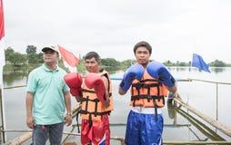 Mar del boxeo Fotografía de archivo libre de regalías