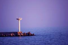 Mar del faro Fotografía de archivo libre de regalías