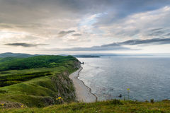 Mar del Giappone di Balyuzek della penisola Immagini Stock