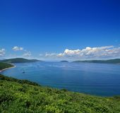 Mar del Giappone, Vladivostok, isola di Popova, Russia Fotografia Stock Libera da Diritti