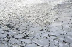 Mar del hielo stock de ilustración