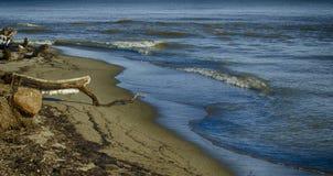 Mar del invierno Imagen de archivo libre de regalías