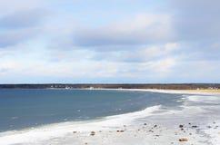 Mar del invierno fotos de archivo libres de regalías