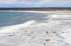 Mar del invierno fotografía de archivo