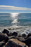 Mar del invierno Imagen de archivo
