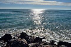 Mar del invierno Imágenes de archivo libres de regalías