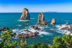 Mar del Japón Foto de archivo libre de regalías