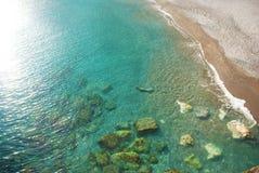 Mar del paraíso Fotos de archivo libres de regalías