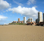 Mar Del Plata coast Royalty Free Stock Photography